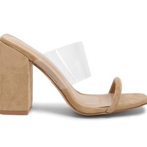 NWT Forever 21 Nude Mules
